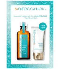MOROCCANOIL LIGHT 125ML WITH HANDCREAM GIFT