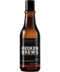 Redken Brews Shampoo, Conditioner and Body Wash