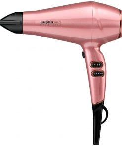 BaByliss Pro Keratin Lustre Hair Dryer in Pink Blush