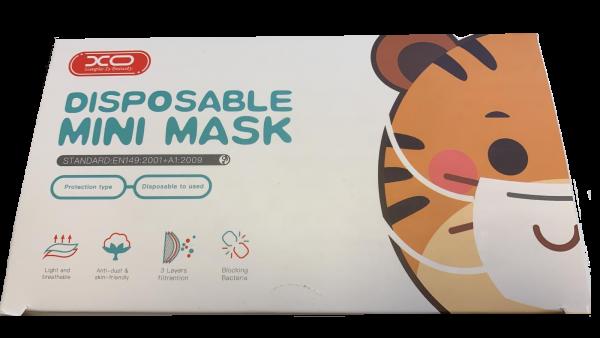 children face mask box